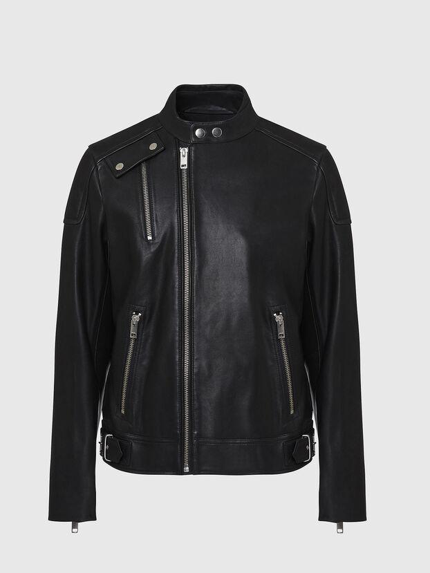 L-CODY, Black - Leather jackets