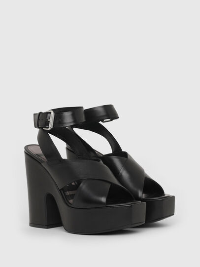 Diesel - SA-JULIA, Black - Sandals - Image 2