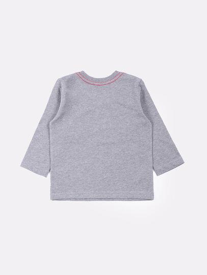 Diesel - TOQUEB, Grey - T-shirts and Tops - Image 2