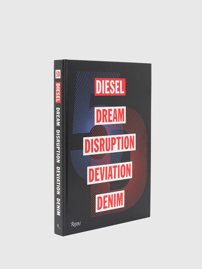 Diesel - 5D Diesel Dream Disruption Deviation Denim, Black - Books - Image 1