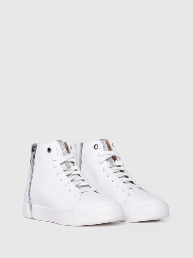 Diesel - S-NENTISH MC W, White - Sneakers - Image 2