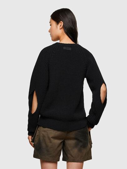 Diesel - M-SAPPHIRE, Black - Knitwear - Image 2