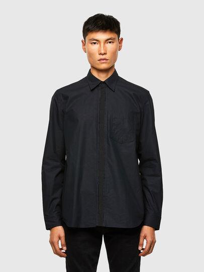 Diesel - S-OLSEN, Black - Shirts - Image 1