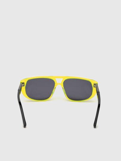 Diesel - DL0306, Yellow Fluo - Kid Eyewear - Image 4