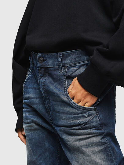 Diesel - Fayza JoggJeans 083AS, Dark Blue - Jeans - Image 4