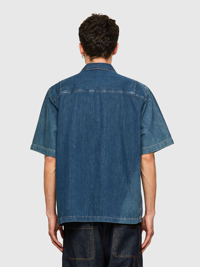 Diesel - D-GUNN-SP, Medium blue - Denim Shirts - Image 2