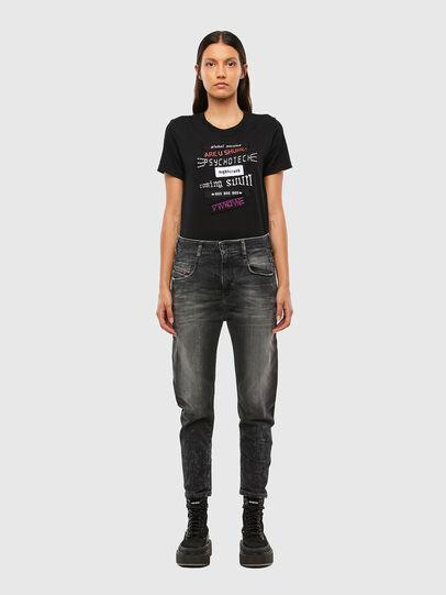 Diesel - Fayza 009IU, Black/Dark grey - Jeans - Image 5