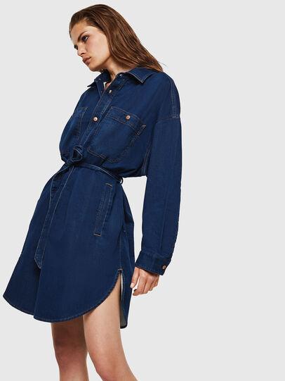 Diesel - D-PINKIES JOGGJEANS, Medium blue - Dresses - Image 4