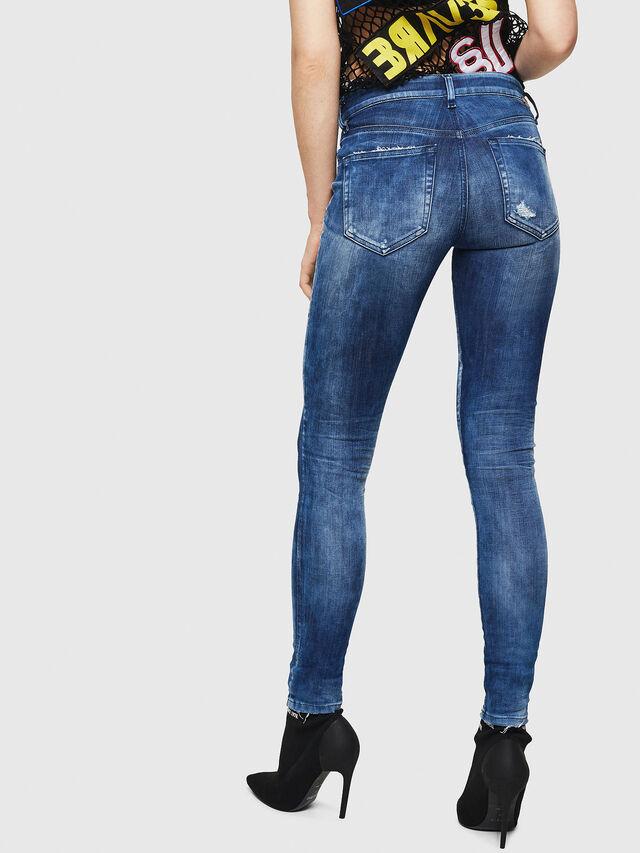 Diesel - Slandy 0090Q, Medium blue - Jeans - Image 2