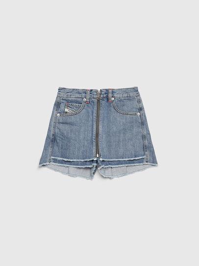 Diesel - PLARZY, Light Blue - Shorts - Image 1