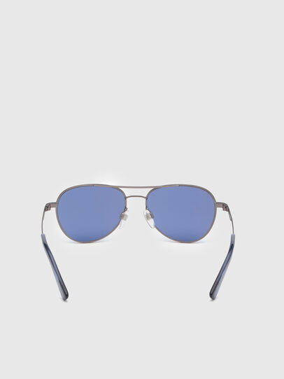 Diesel - DL0291, Blue/Grey - Kid Eyewear - Image 4