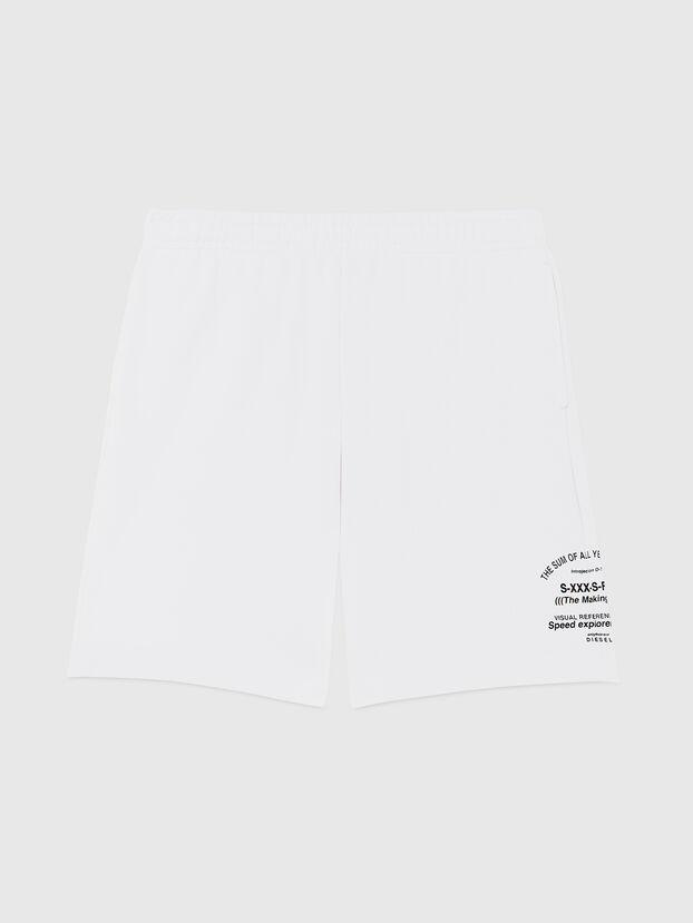 P-BOXIER-X2, White - Shorts