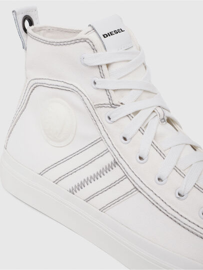 Diesel - S-ASTICO MID LACE, White - Sneakers - Image 5
