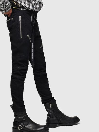 Diesel - P-VON, Black - Pants - Image 4