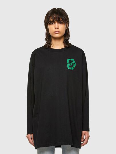 Diesel - T-MIST-E71, Black - T-Shirts - Image 1