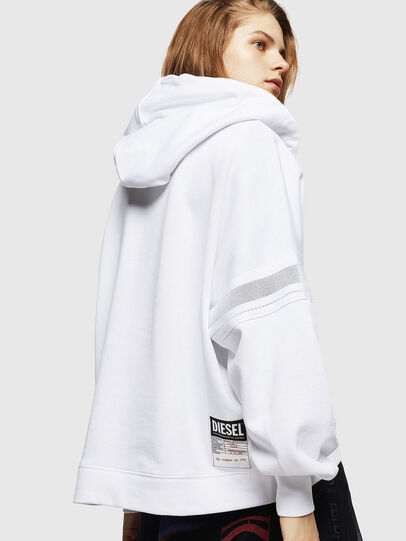 Diesel - F-AVAL, White - Sweaters - Image 2