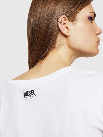 Diesel - T-JACKY-J, White - Tops - Image 3