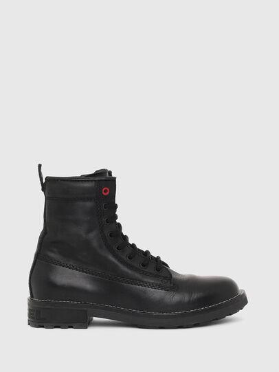 Diesel - D-THROUPER DBB W Z, Black - Ankle Boots - Image 1