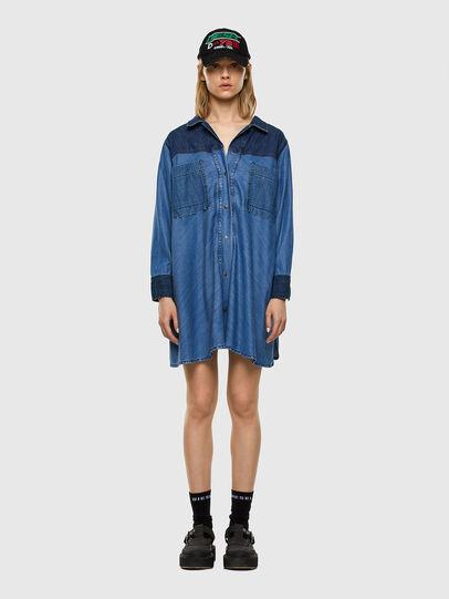 Diesel - DE-NILLA, Light Blue - Denim Shirts - Image 5