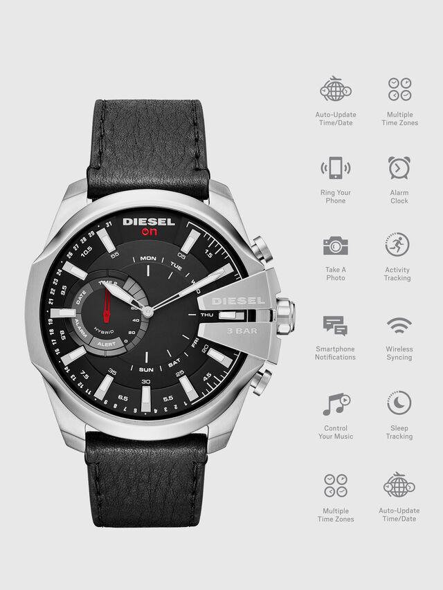 Diesel - DT1010, Black - Smartwatches - Image 1