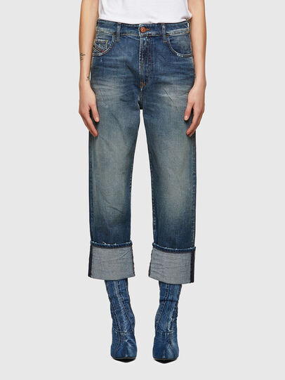 Diesel - D-Reggy 009UA, Dark Blue - Jeans - Image 1