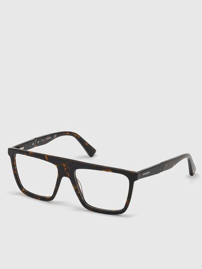 Diesel - DL5369, Black/Brown - Eyeglasses - Image 2