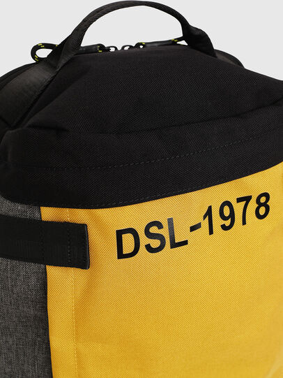 Diesel - PIEVE, Black/Yellow - Backpacks - Image 4