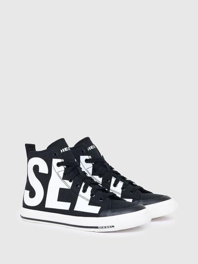 Diesel - S-ASTICO MID CUT, Black/White - Sneakers - Image 2