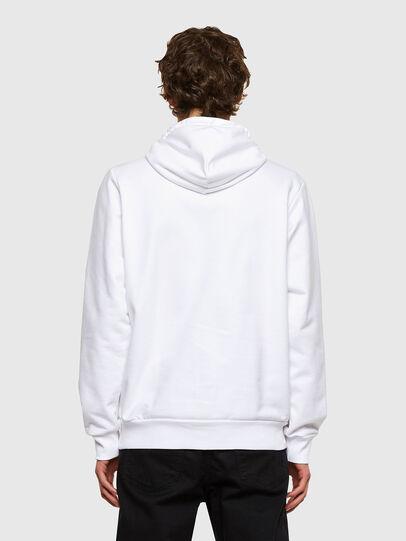 Diesel - S-GIRK-HOOD-SMALLOGO, White - Sweaters - Image 2
