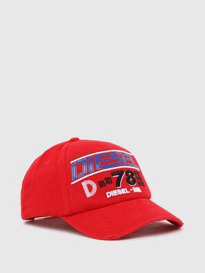 C-BRAVE, Red - Caps