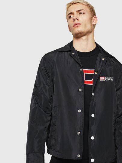 Diesel - J-ROMAN-P, Black - Jackets - Image 1