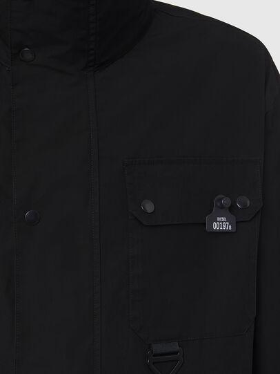 Diesel - J-AHKEE, Black - Jackets - Image 4
