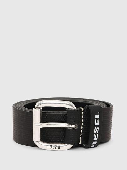 Diesel - B-CAVA, Black - Belts - Image 1