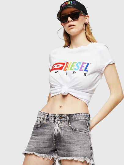 Diesel - UFTEE-SILY-INT,  - T-Shirts - Image 4