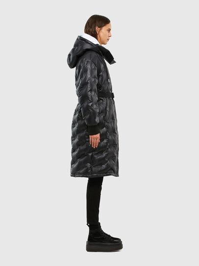 Diesel - W-LALLA, Black - Winter Jackets - Image 3