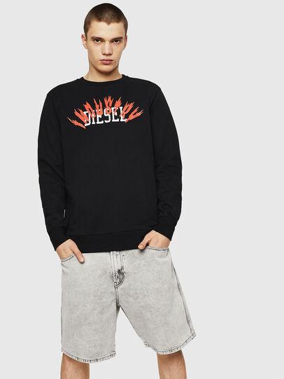 Diesel - S-GIR-A1, Black - Sweaters - Image 4