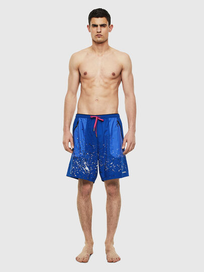 Diesel - BMBX-TUNAPO, Brilliant Blue - Swim shorts - Image 1