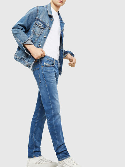 Diesel - Buster 083AX, Light Blue - Jeans - Image 5