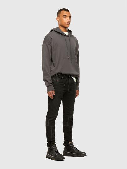 Diesel - Thommer JoggJeans 009IC, Black/Dark grey - Jeans - Image 7