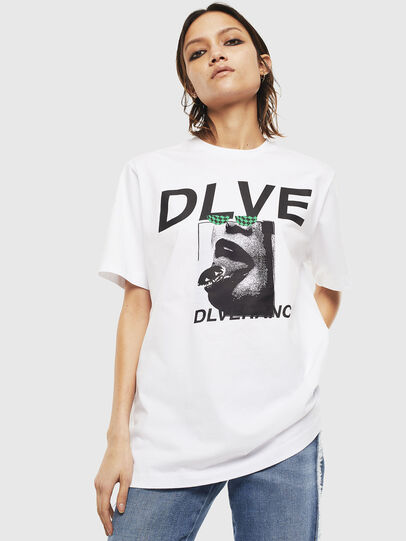 Diesel - T-JUST-T21, White - T-Shirts - Image 2