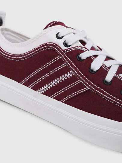 Diesel - S-ASTICO LOW LACE, Burgundy - Sneakers - Image 5