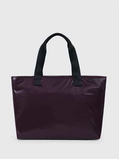 Diesel - F-BOLD SHOPPER III, Dark Violet - Shopping and Shoulder Bags - Image 2