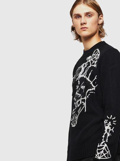 Diesel - KLATO, Black - Knitwear - Image 4