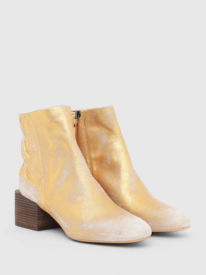 Diesel - JAYNET MAB, Gold - Ankle Boots - Image 2