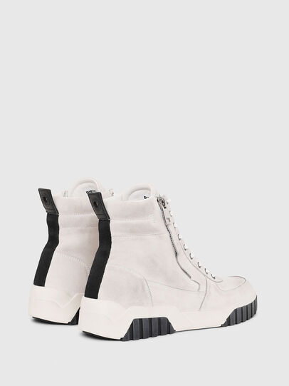Diesel - S-RUA MID, White - Sneakers - Image 3