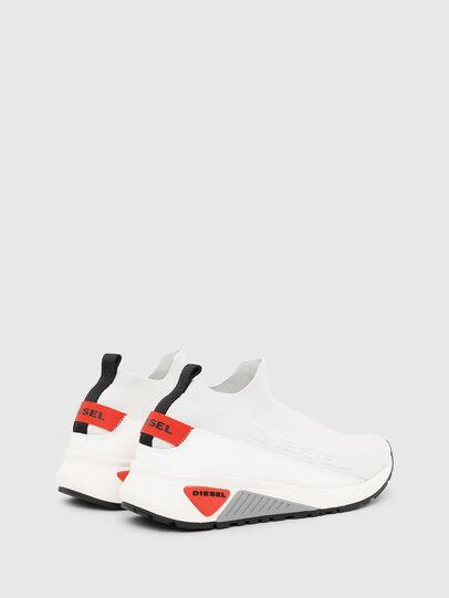 Diesel - S-KB SOCK QB, White/Grey - Sneakers - Image 3