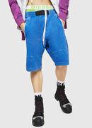 P-BIRX, Blue - Shorts
