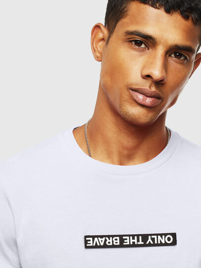Diesel - T-DIEGO-T16, White - T-Shirts - Image 4