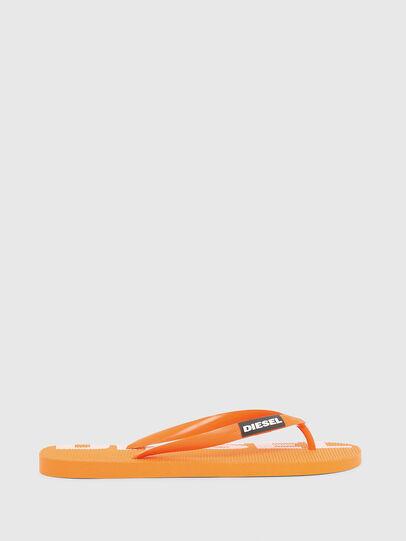 Diesel - SA-BRIIAN, Orange - Slippers - Image 1