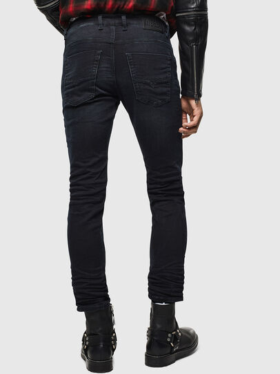 Diesel - Krooley JoggJeans 069KJ, Black/Dark grey - Jeans - Image 2
